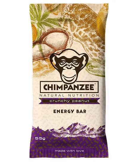 Chimpanzee Energy bar Crunchy Peanut 55 g
