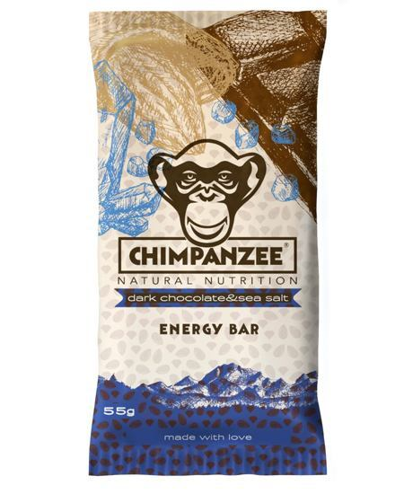 Chimpanzee Energy Bar Dark Chocolate - Sea Salt 55 g