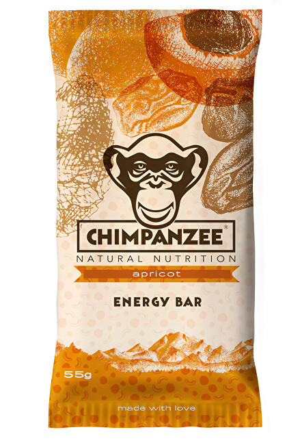 Zobrazit detail výrobku Chimpanzee Energy bar Apricot 55 g