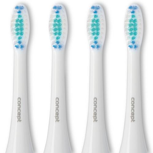 Zobrazit detail výrobku Concept ZK0001 Náhradní hlavice k zubním kartáčkům ZK4000, ZK4010, ZK4030, ZK4040, Daily Clean, 4 ks