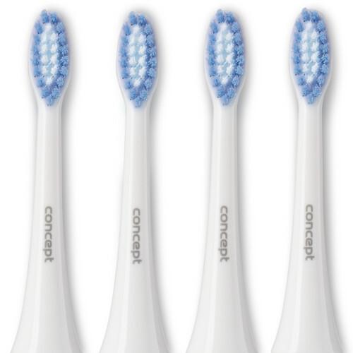 Zobrazit detail výrobku Concept ZK0002 Náhradní hlavice k zubním kartáčkům ZK4000, ZK4010, ZK4030, ZK4040, Soft Clean, 4 ks