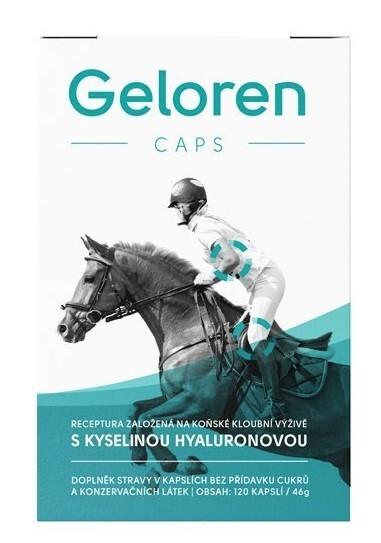 Zobrazit detail výrobku Aktivní zvíře Geloren CAPS 120 kapslí