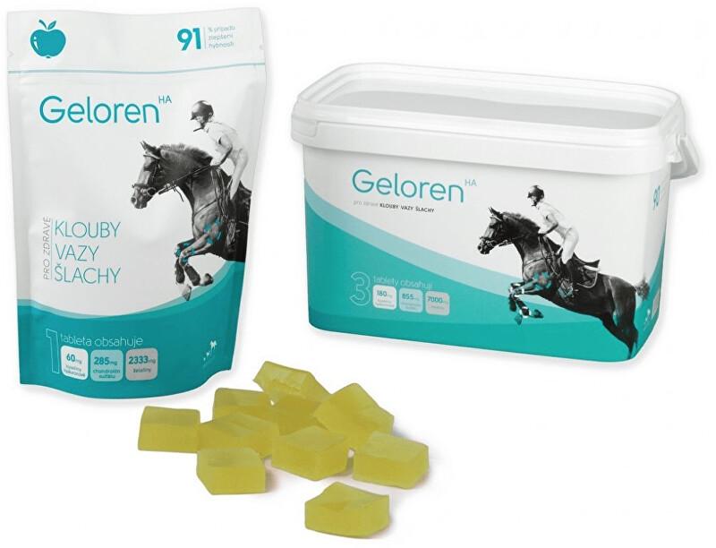Zobrazit detail výrobku Aktivní zvíře Geloren HA - jablečný 1350 g (90 ks)