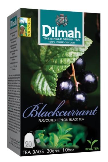 Zobrazit detail výrobku Dilmah Čaj černý, Černý rybíz 20 ks