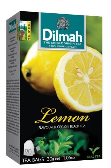 Zobrazit detail výrobku Dilmah Čaj černý, Citron 20 ks