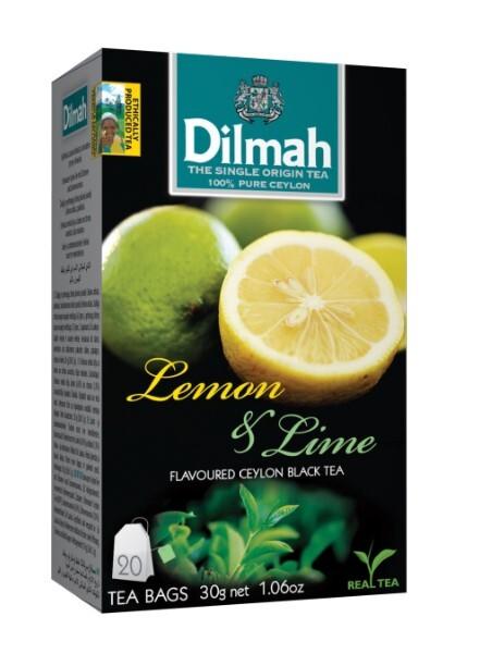 Zobrazit detail výrobku Dilmah Čaj černý, Citron, Limetka 20 ks