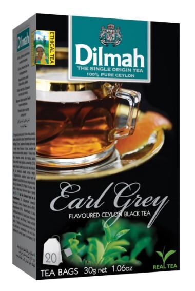 Zobrazit detail výrobku Dilmah Čaj černý Earl Grey 20 ks