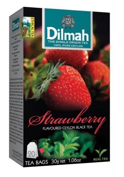Zobrazit detail výrobku Dilmah Čaj černý, Jahoda 20 ks