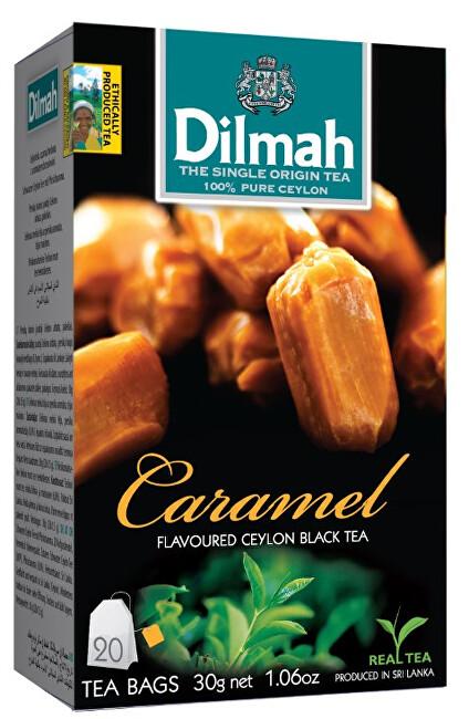 Zobrazit detail výrobku Dilmah Čaj černý, Karamel 20 ks