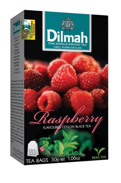 Zobrazit detail výrobku Dilmah Čaj černý, Malina 20 ks