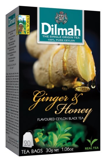 Zobrazit detail výrobku Dilmah Čaj černý, Zázvor, Med 20 ks