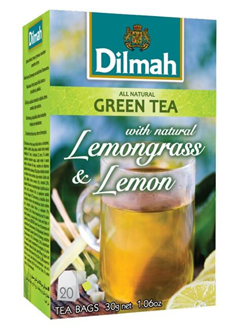 Zobrazit detail výrobku Dilmah Čaj zelený Citrónová tráva, Citron 20 ks