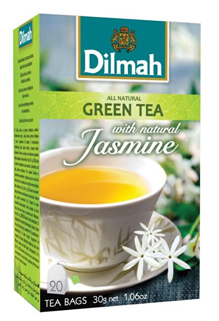 Zobrazit detail výrobku Dilmah Čaj zelený Jasmín 20 ks