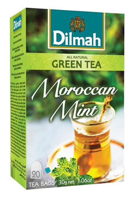 Zobrazit detail výrobku Dilmah Čaj zelený Marocká máta 20 ks