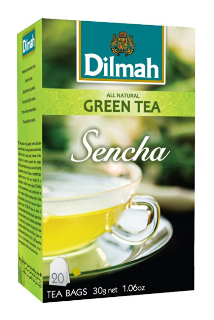 Zobrazit detail výrobku Dilmah Čaj zelený Sencha 20 ks