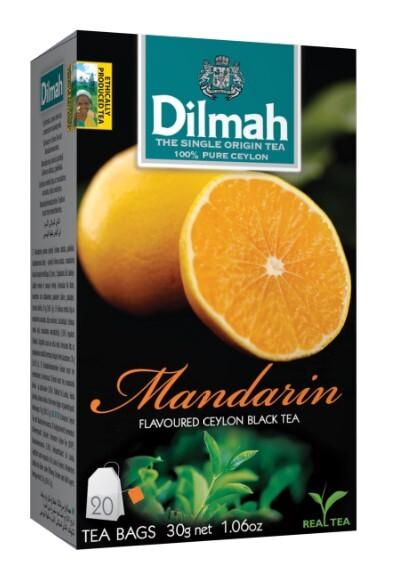 Zobrazit detail výrobku Dilmah Čaj černý, Mandarinka 20 ks