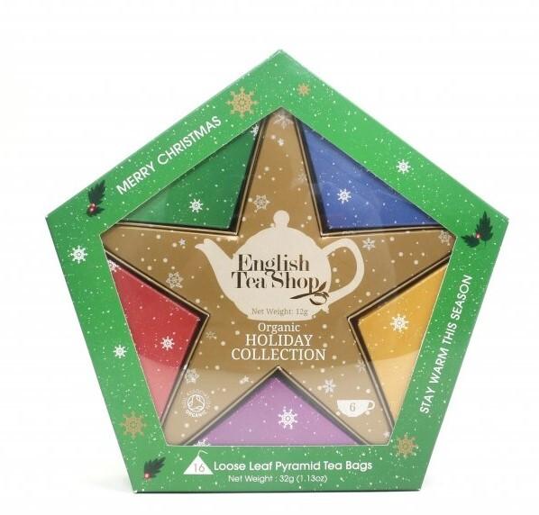 Zobrazit detail výrobku English Tea Shop Dárková kolekce se Zlatou hvězdou 16 čajových sáčků