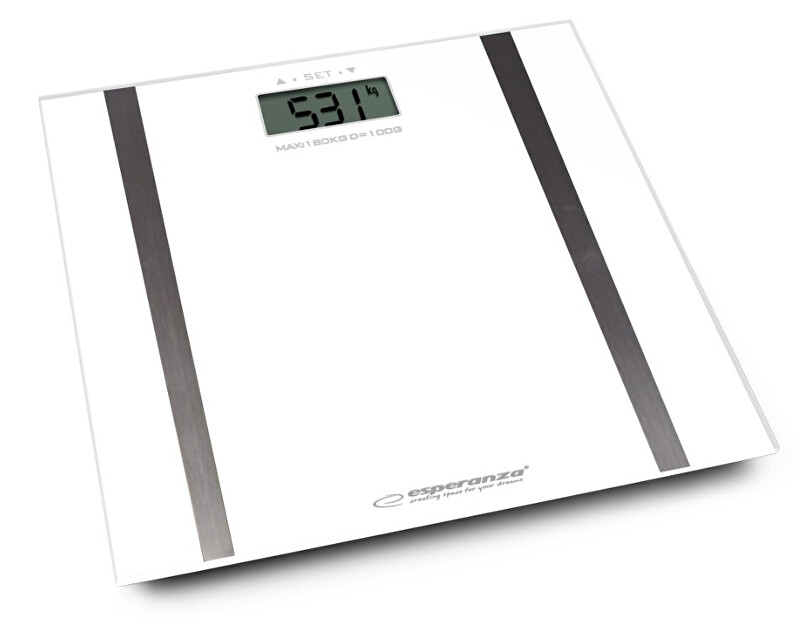 Zobrazit detail výrobku Esperanza Osobní elektronická váha s měřením tuku Samba - bílá