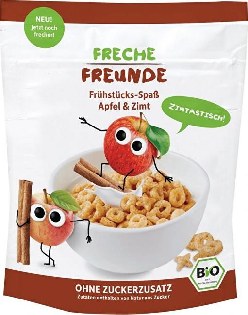 Zobrazit detail výrobku Freche Freunde BIO Cereálie - křupavé piškvorky - Jablko a skořice 125 g