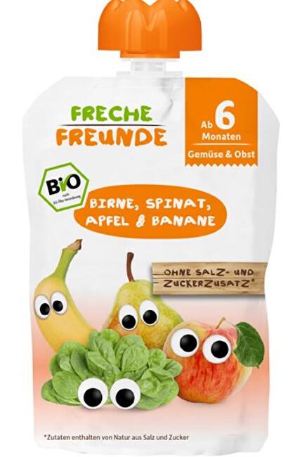 Zobrazit detail výrobku Freche Freunde BIO Kapsička Hruška, špenát, jablko a banán 100 g