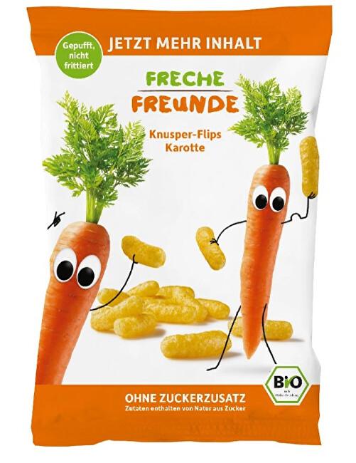 Zobrazit detail výrobku Freche Freunde BIO Křupky Kukuřice a mrkev 30 g