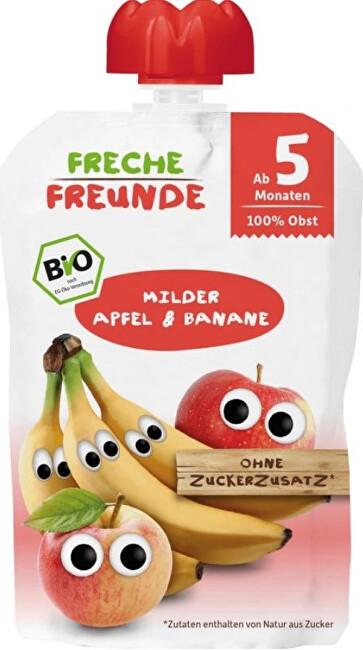 Zobrazit detail výrobku Freche Freunde BIO Ovocná kapsička Jablko a banán 100 g