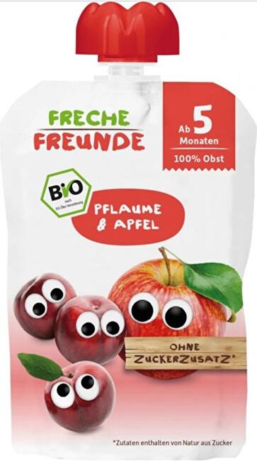 Zobrazit detail výrobku Freche Freunde BIO Ovocná kapsička Švestka a jablko 100 g