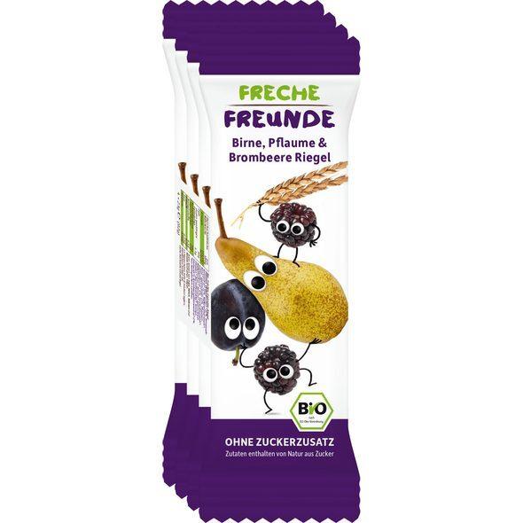 Zobrazit detail výrobku Freche Freunde BIO Ovocná tyčinka - Hruška, švestka a ostružina 4 x 23 g