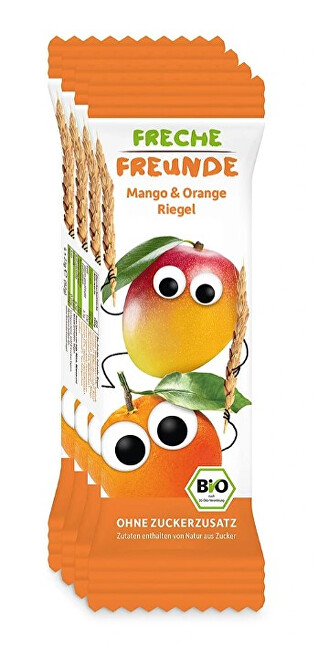 Zobrazit detail výrobku Freche Freunde BIO Ovocná tyčinka - Mango a pomeranč 4 x 23 g
