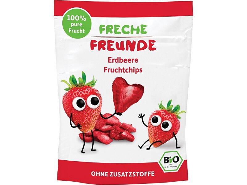 Zobrazit detail výrobku Freche Freunde BIO Ovocné chipsy - 100% Jahoda 12 g