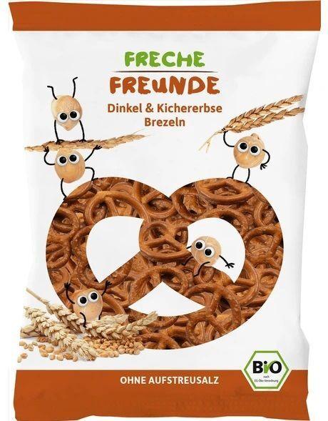 Zobrazit detail výrobku Freche Freunde BIO Špaldové preclíky s cizrnou 75 g