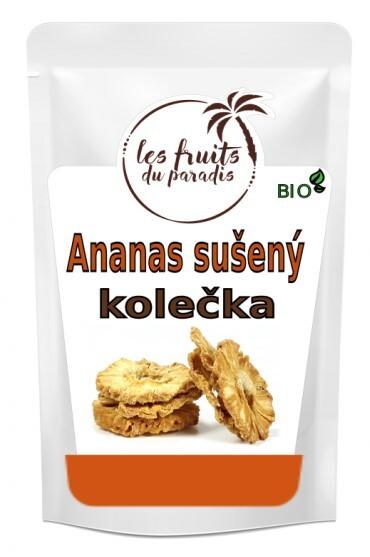 Zobrazit detail výrobku Fruits du Paradis Ananas kolečka Bio 150 g