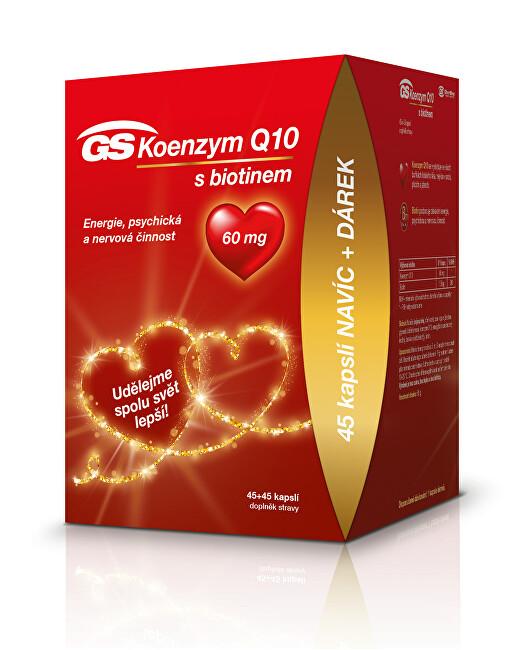 Zobrazit detail výrobku GreenSwan GS Koenzym Q10 60mg cps. 45+45 edice 2020