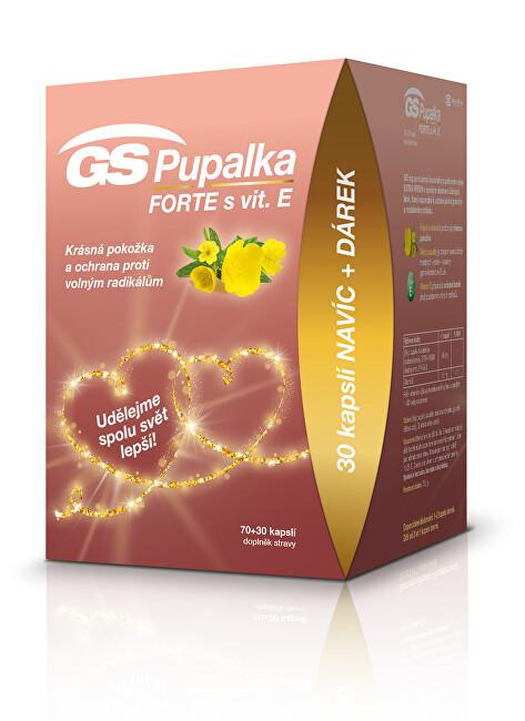Zobrazit detail výrobku GreenSwan GS Pupalka Forte s vit.E 70+30 kapslí