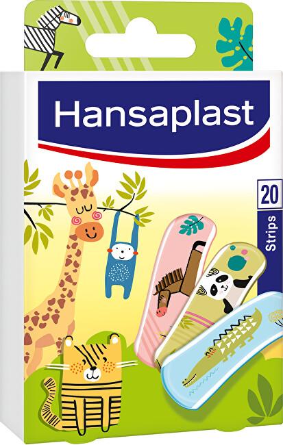 Zobrazit detail výrobku Hansaplast Zvířátka náplast 20 ks