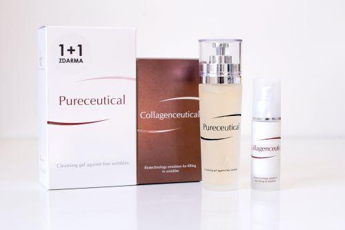 Zobrazit detail výrobku FYTOFONTANA Collagenceutical 30 ml + Pureceutical gel 125 ml