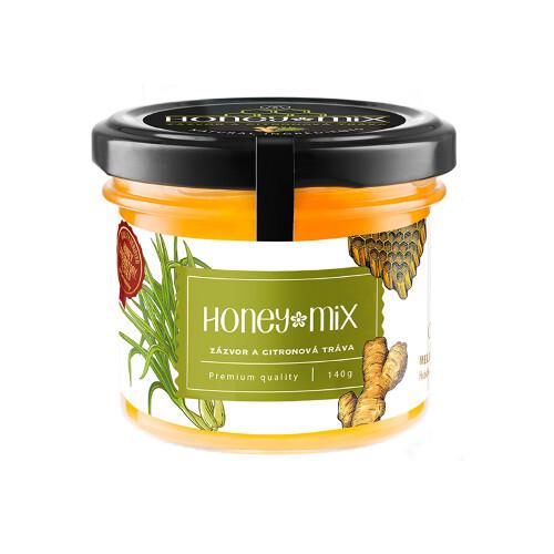 Zobrazit detail výrobku HoneyMix Med se zázvorem a extraktem z citronové trávy 140 g