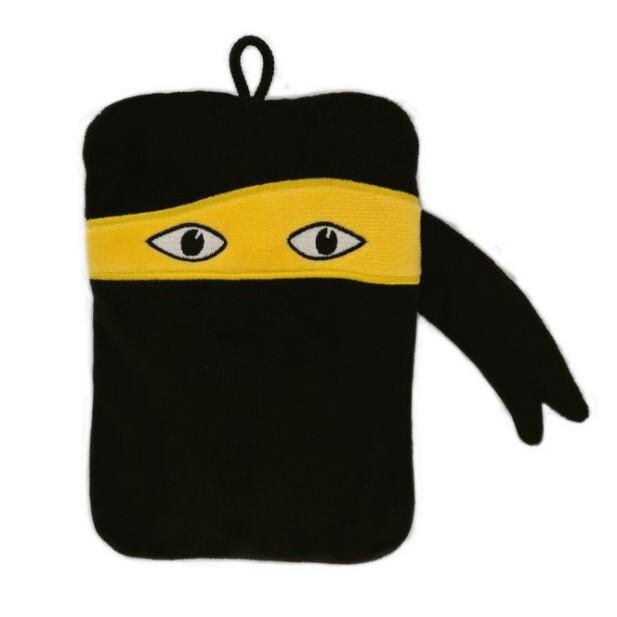 Zobrazit detail výrobku Hugo-Frosch Dětský termofor Classic MINI s motivem ninja - velurový
