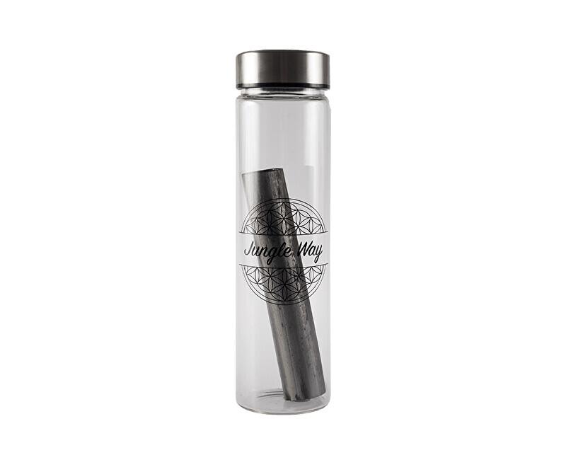 Zobrazit detail výrobku Jungle Way Skleněná láhev s aktivním bambusovým uhlíkem