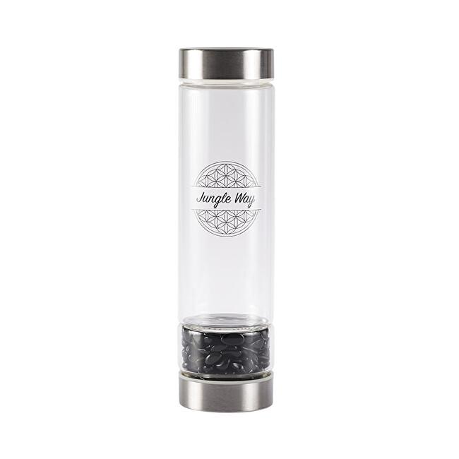 Zobrazit detail výrobku Jungle Way Skleněná láhev s onyxem