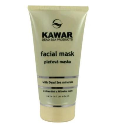 Zobrazit detail výrobku Kawar Pleťová maska s minerály z Mrtvého moře 150 ml