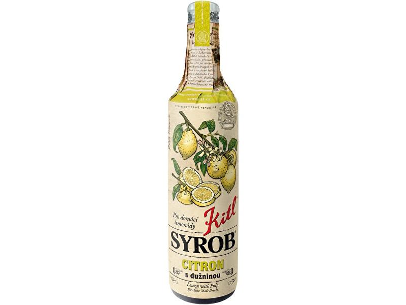Zobrazit detail výrobku Kitl Kitl Syrob Citron s dužinou 500ml