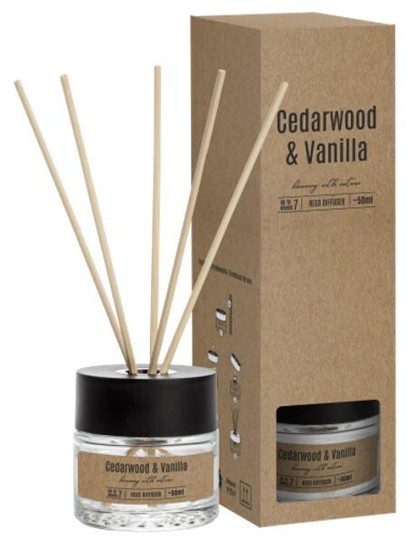 Zobrazit detail výrobku KPPS Difuzér olejový 50 ml cedrové dřevo s vanilkou