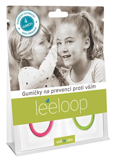 Zobrazit detail výrobku LEELOOP Leeloop Gumičky na prevenci proti vším 4 ks