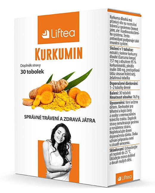 Zobrazit detail výrobku Liftea Kurkumin 30 tobolek