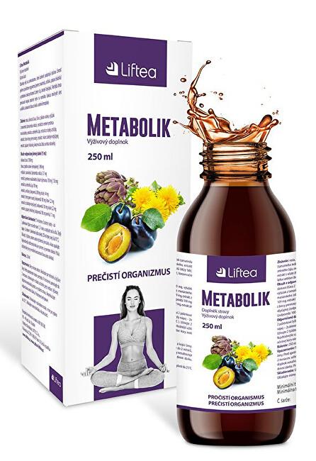 Zobrazit detail výrobku Liftea Metabolik sirup 250 ml