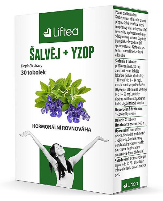 Zobrazit detail výrobku Liftea Šalvěj + yzop 30 tobolek