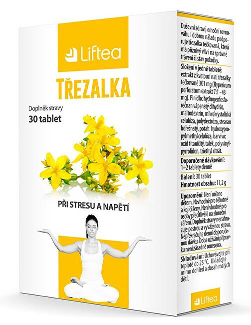 Zobrazit detail výrobku Liftea Třezalka 30 tablet