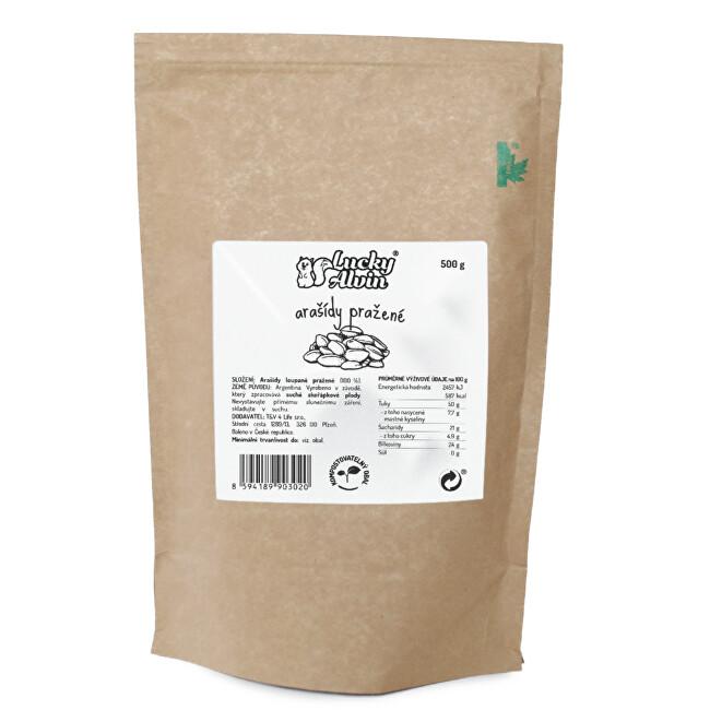Zobrazit detail výrobku Lucky Alvin Arašídy pražené 500 g