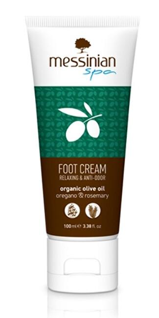 Zobrazit detail výrobku Messinian Spa Krém na nohy oregano & rozmarýn 100 ml